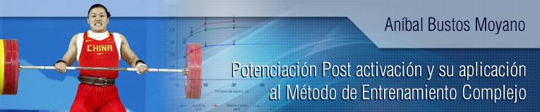 Webinar sobre Potenciación Post activación y su aplicación al Método de Entrenamiento Complejo