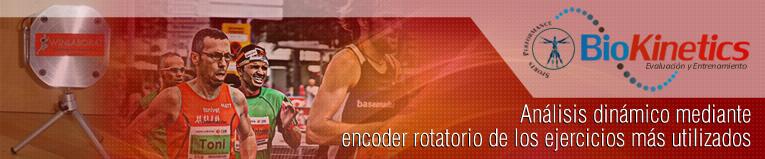 Webinar de Análisis Dinámico Mediante Encoder Rotatorio de los Ejercicios Más Utilizados en el Entrenamiento con Sobrecarga