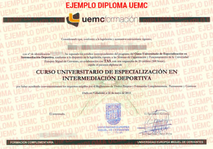 Diploma de Experto