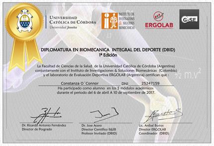Certificado de Aprobación