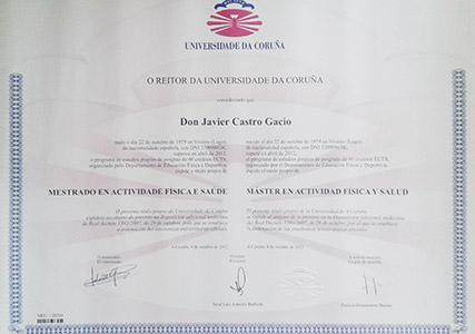 Diploma de Master