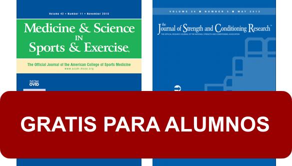 Acceso Gratuito a Journals de Ciencias del Ejercicio