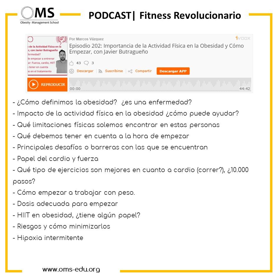 PODCAST | Importancia de la Actividad Física en la Obesidad y Cómo empezar a entrenar.