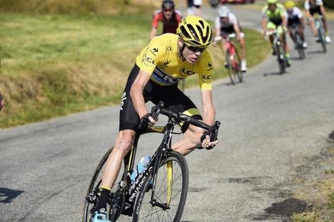 El Equipo Sky Revela algunos Datos Pertenecientes a Froome en la Etapa 10 del Tour de Francia