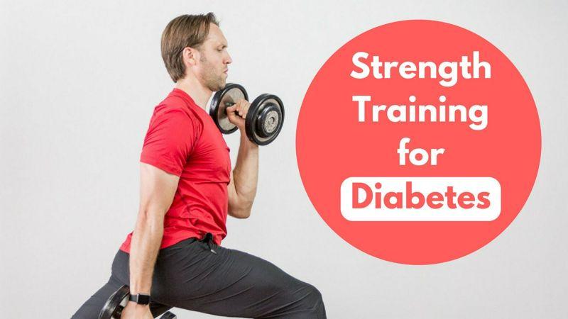 La masa muscular, el tipo de ejercicio y la nutrición en la diabetes