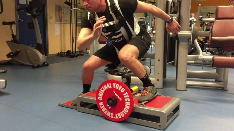 Tecnología evaluación de la fuerza y prevención de lesiones en corredores