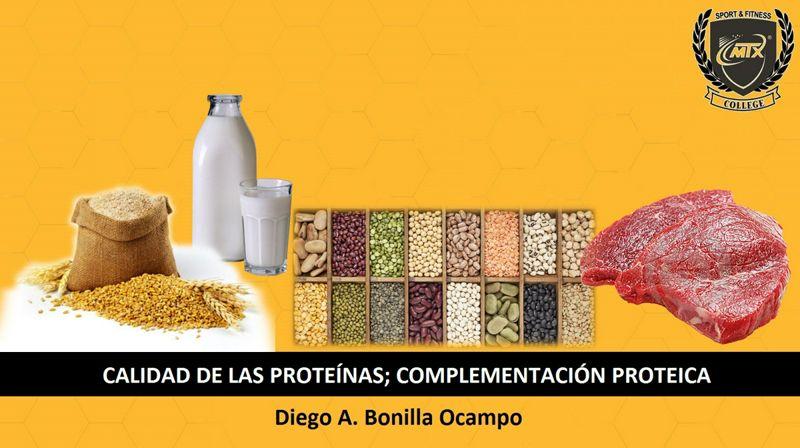 Calidad de las Proteínas; Complementación Proteica