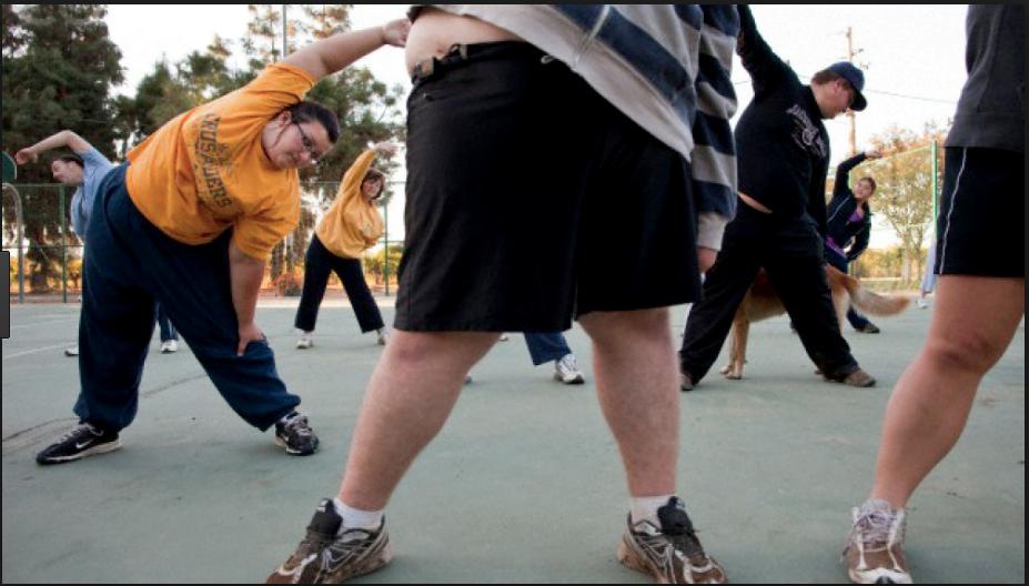Masa muscular, obesidad y ejercicios