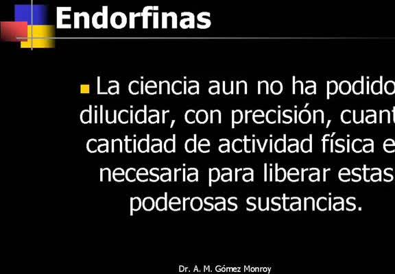 Clase: Ejercicio, Enfermedad Coronaria, Depresión y Endorfinas...