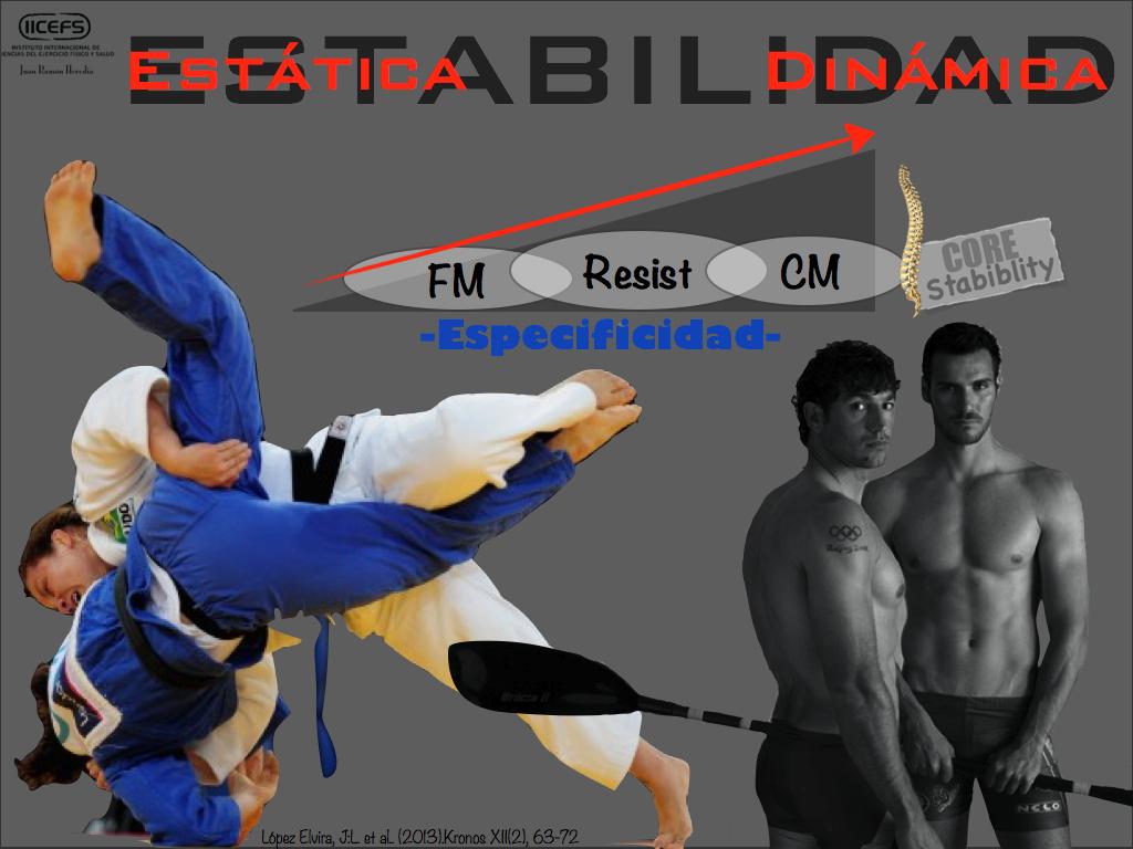 Diferencias en la estabilización del tronco sobre un asiento inestable entre piragüistas, judocas y sujetos físicamente activos