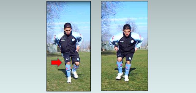 Compensaciones durante la ejecución de sentadillas a una sola pierna (single-leg squat).