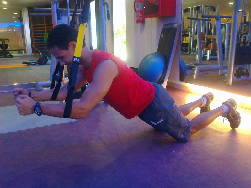 Ejercicios CORE y entrenamiento en suspensión