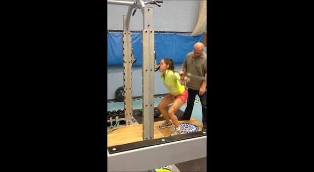sentadilla con pesos bajos al fallo muscular