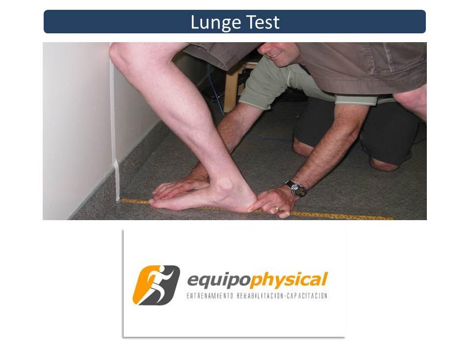 Validez y fiabilidad del Lunge test para la determinación del rango de flexión dorsal de tobillo
