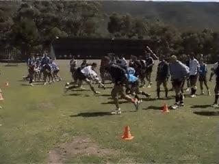 Conflictos en el entrenamiento del rugby, propuesta de ejercicio