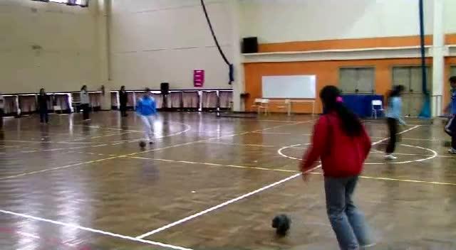 Manejo de pelota espuma. Parte 1.