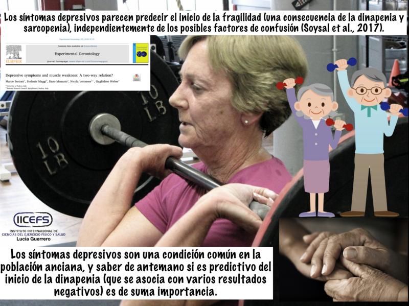 Síntomas Depresivos, Dinapenia, Sarcopenia