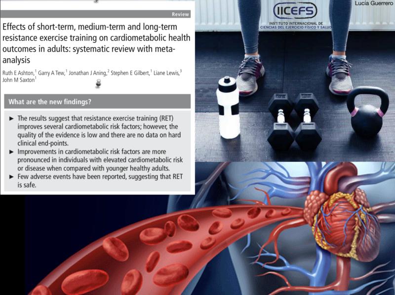 Entrenamiento de Fuerza y Salud Cardiometabólica