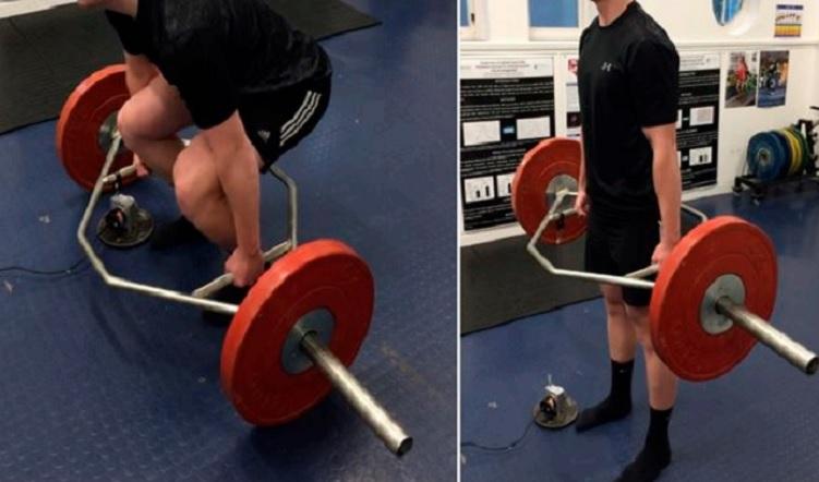 Efecto de la barra de pesas Hexagonal sobre la demanda mecánica al realizar el Peso Muerto