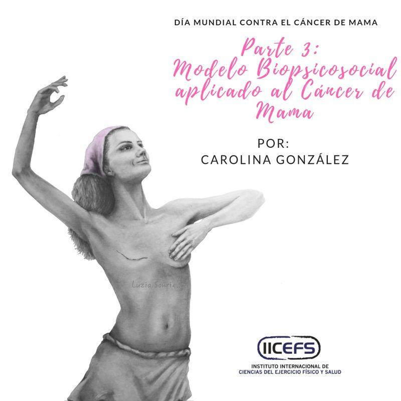 Modelo Biopsicosocial asociado al cáncer de mama: Estrés, ansiedad y depresión y su relación con el ejercicio físico.