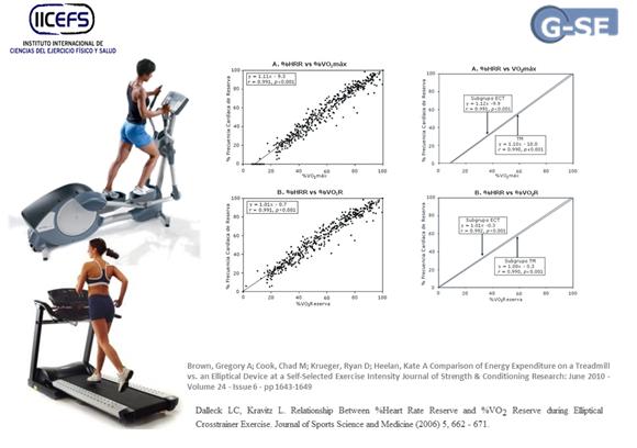 Criterios para la selecci n de medios de entrenamiento cardiovascular m quinas el pticas - Beneficios de la bici eliptica ...