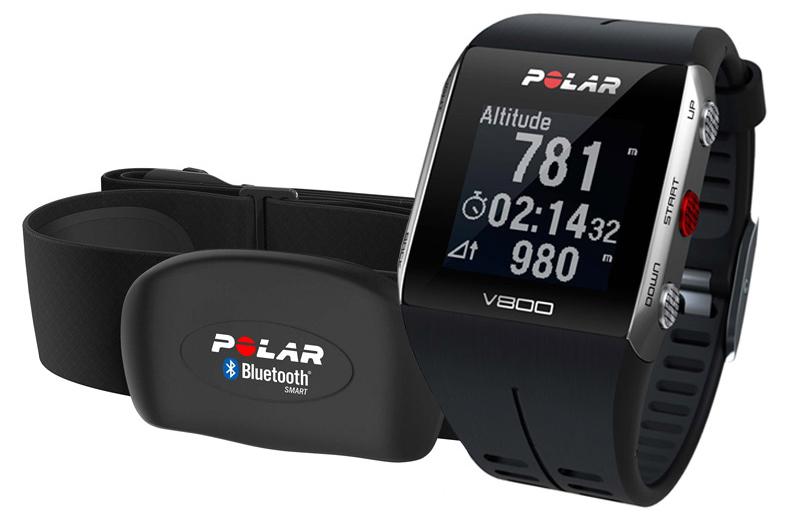 Figura 2: Polar V800 + Banda Polar H7. Una Solución para la Monitorización de la FC en tiempo real en el Agua