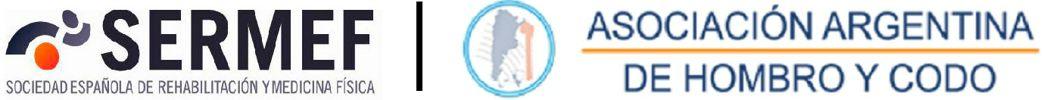 Sociedad Española de Rehabilitación y Medicina Física - Asociación Argentina de Hombro y Codo