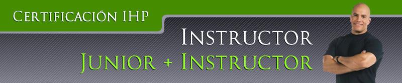 Certificación IHP: Instructor Junior + Instructor