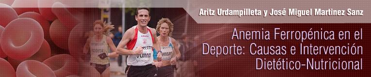 Webinar de Anemia Ferropénica en el Deporte: Causas e Intervención Dietético-Nutricional