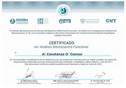 Certificación ABF