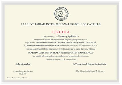 Master Internacional en Nutrición Deportiva y Clínica