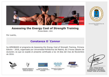 International Symposium in Strength Training