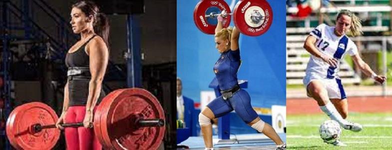 Diferencias en la densidad mineral ósea entre jugadoras de fútbol, levantadoras olímpicas y de potencia