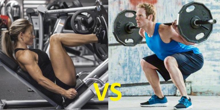Efectos del entrenamiento con pesas libres vs máquinas sobre la masa muscular, la fuerza, los niveles de testosterona libre y de cortisol libre