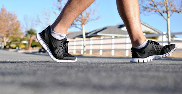 La caminata frente a la salud