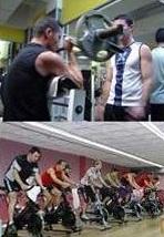 Cómo es la respuesta molecular aguda de un entrenamiento concurrente en un músculo entrenado vs desentrenado.