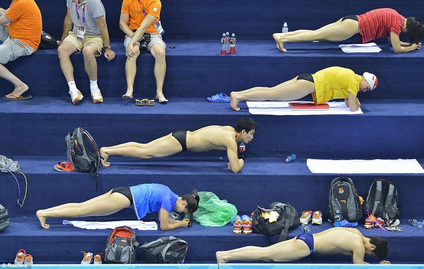 El entrenamiento de la fuerza en la natación: consideraciones generales