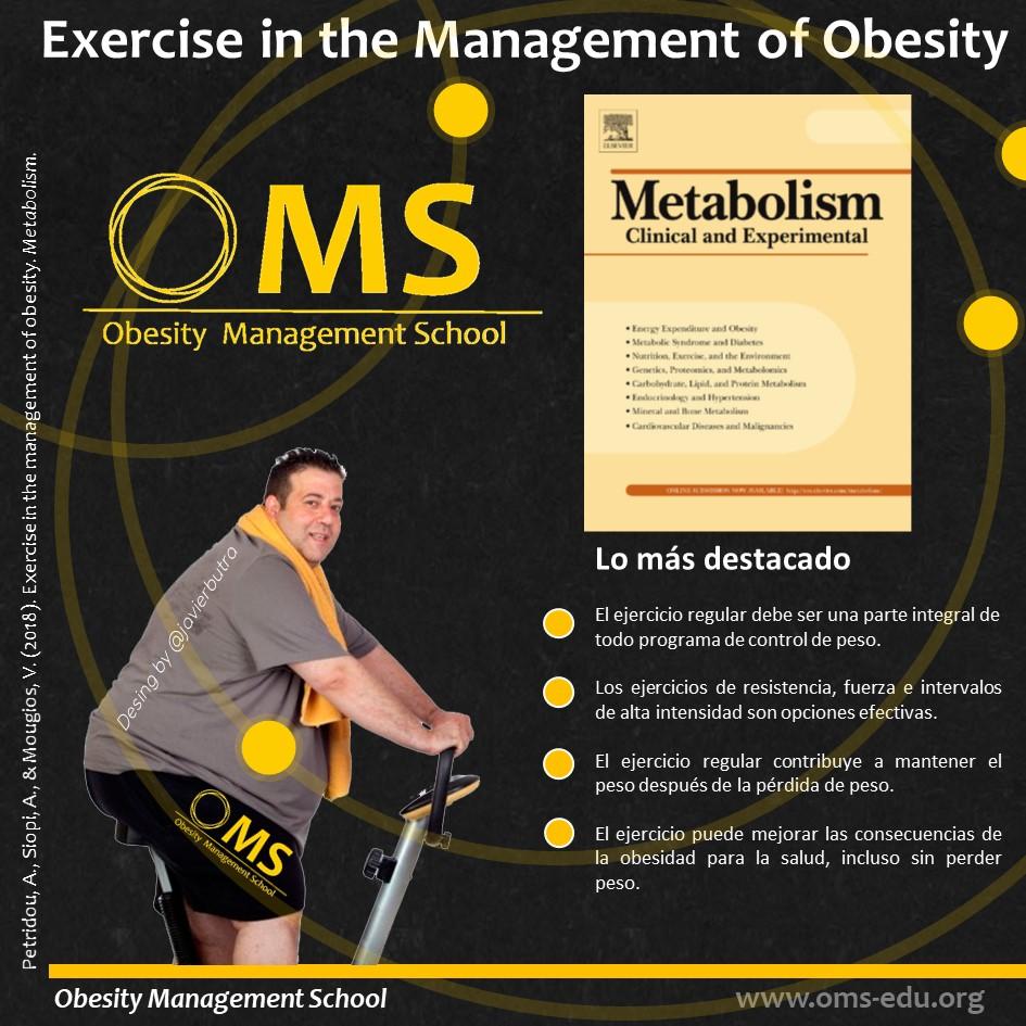 Ejercicio en el manejo de la obesidad