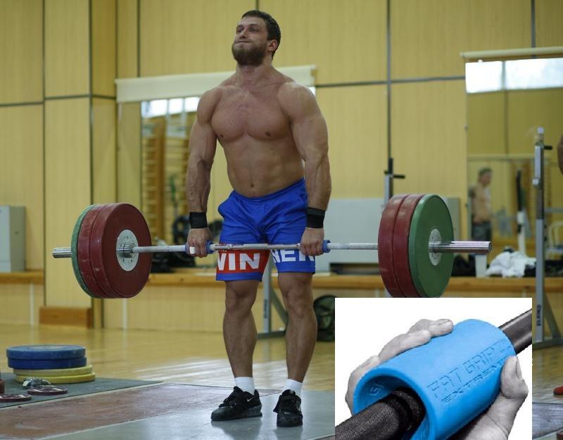 Impacto de los agarres Fat Grip sobre la fuerza muscular y la activación neuromuscular durante el ejercicio de fuerza.