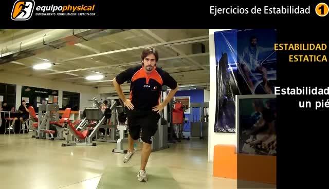 Ejemplos de ejercicios de estabilidad estatica