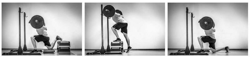 Activación muscular en los ejercicios unilaterales con barra