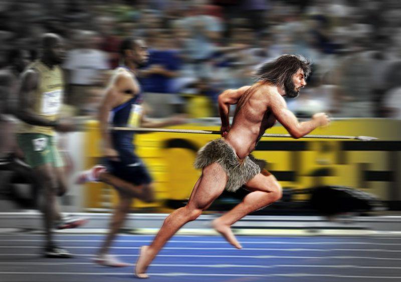 Entrenar como un humano del Paleolítico ayuda a ser mejor Atleta
