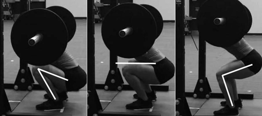 Cinética de la rodilla durante las sentadillas de diferentes cargas y profundidades en mujeres entrenadas de forma recreativa