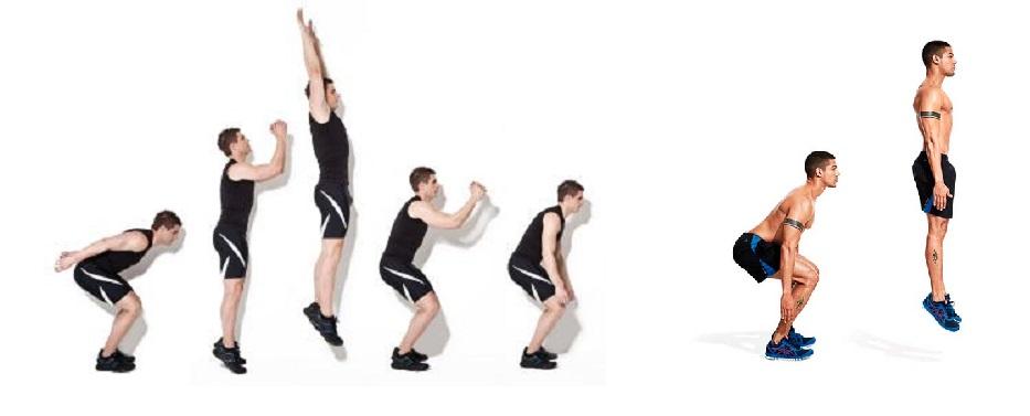 Contribuciones cinéticas de los miembros superiores durante los saltos verticales con o sin balanceo de brazos