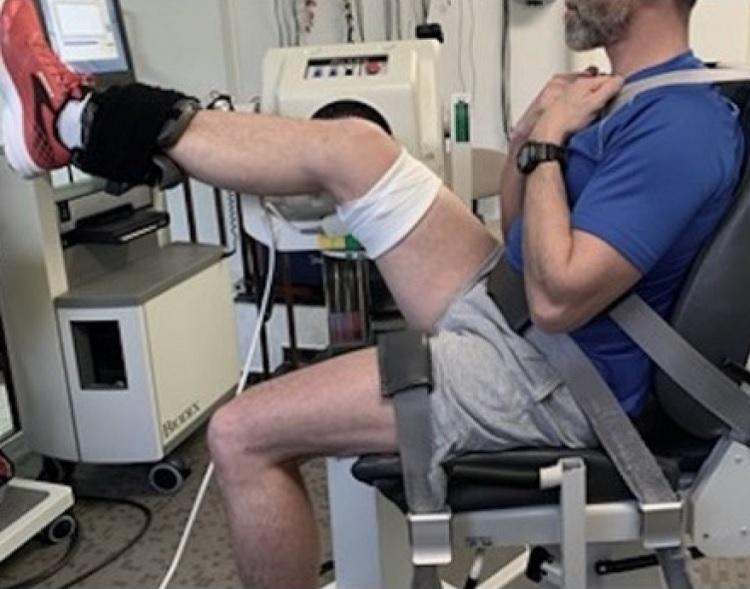 El estiramiento estático agudo da como resultado alteraciones específicas musculares entre los músculos isquiotibiales