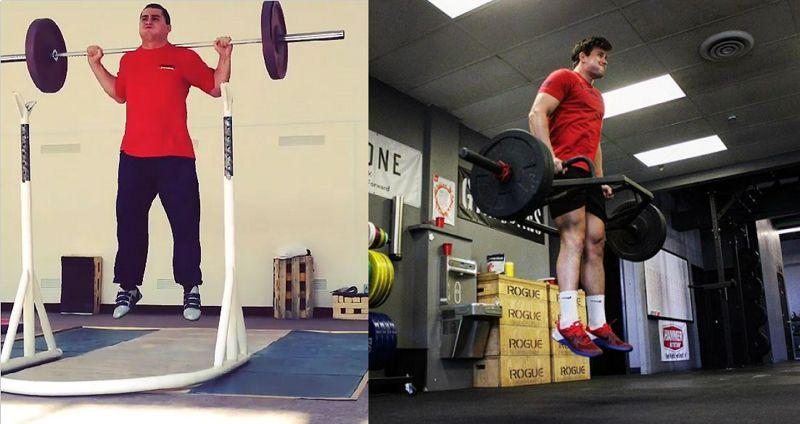 Entrenamiento del salto en jugadores de rugby ¿barra olímpica o barra hexagonal?