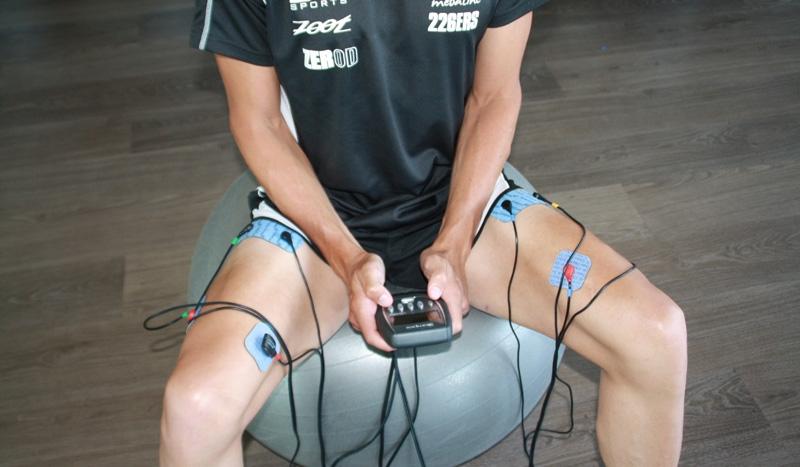 Electro estimulación para triatletas: ¿cómo, cuándo y por qué utilizarla?