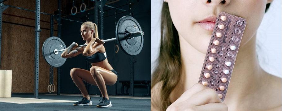 Los anticonceptivos orales no afectan las respuestas fisiológicas al ejercicio de fuerza
