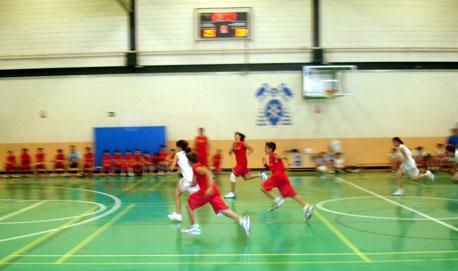 El Contraataque en baloncesto.