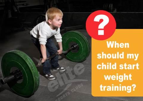 ¿A qué edad empezar con el entrenamiento de fuerza en niños?